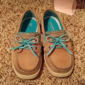 GUC! Toddler girl size 9m , sperry top sider